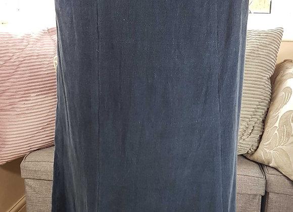 ◾Abraham & Thakore navy chord skirt. NWT