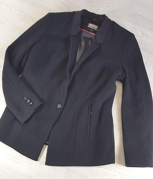 Next black jacket with shoulder pads. Size 16