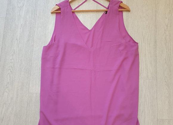 🏵Dorothy Perkins pink cami top. Size 18