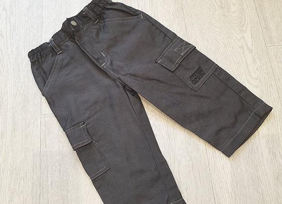 🧸Adams black trousers. 1-1½yrs