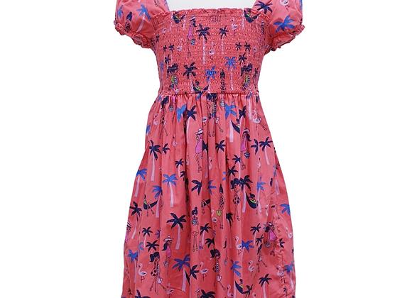 Bluezoo pink summer dress. 8yrs