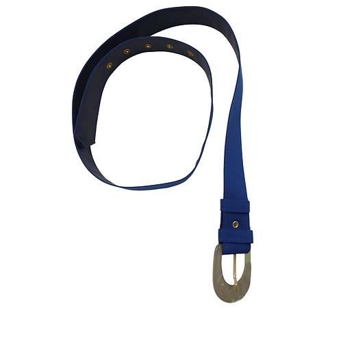Blue women's belt.  Size S/M