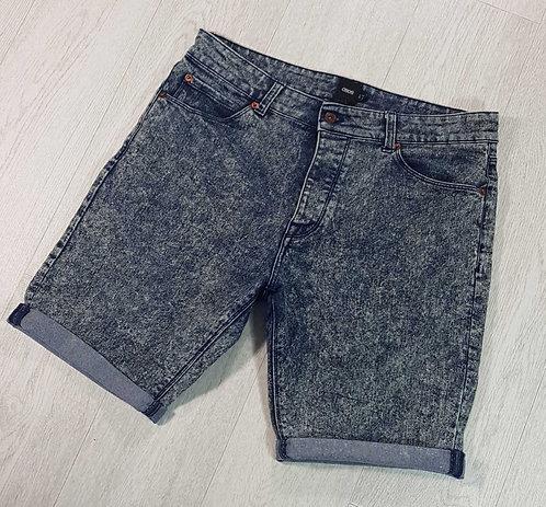 """Asos wash denim shorts. 34""""waist"""