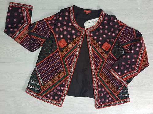 Ratan Textiles embroidered jacket  size M