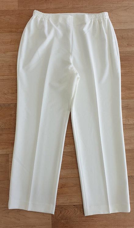 Artigiano ivory trousers. Uk 16