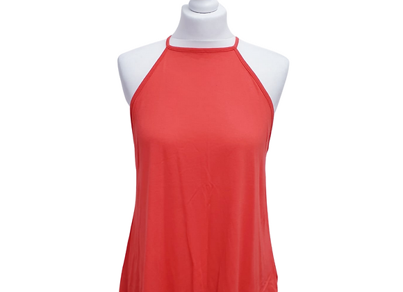 Asos coral halter neck vest top. Uk 10