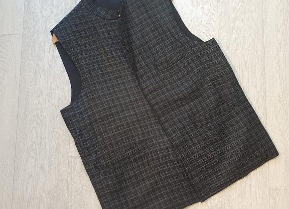 ♠️Charcoal ethnic waistcoat size XL