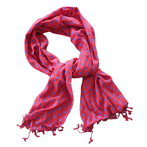 Bewitched Accessories spotty scarf. NWT