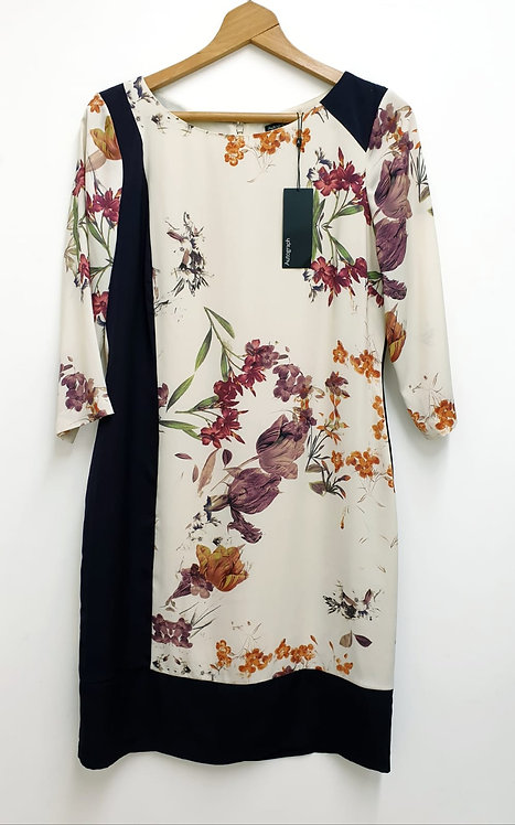 Autograph plum mix dress. Uk 12 NWT