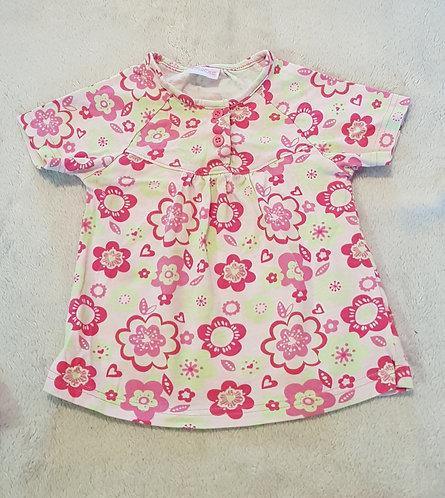 CHEROKEE Floral t-shirt 6-9m