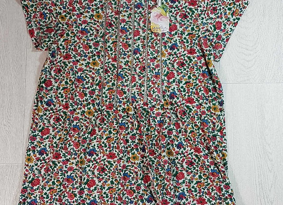 ◾April Cornell floral t-shirt. Size S NWT
