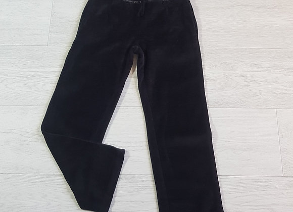 Black velour trousers. 7yrs
