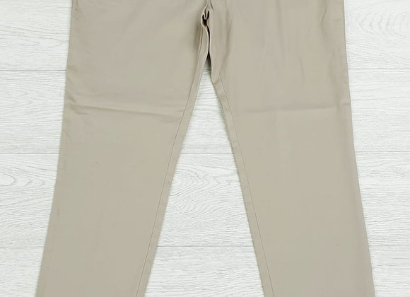 •Atmosphere beige tapered trousers. Size 14 /Euro 42