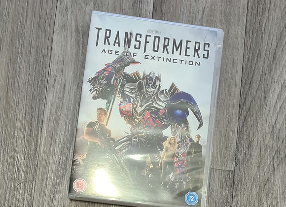 DVD- Transformers Age of Extinction rating 12