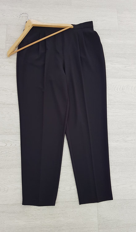 🍁Bhs formal black stretchy waist trousers size 16