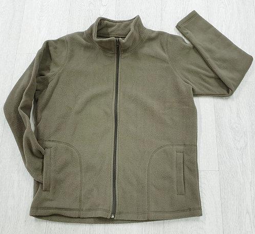 Anthology khaki zip up fleece. Uk 12-14