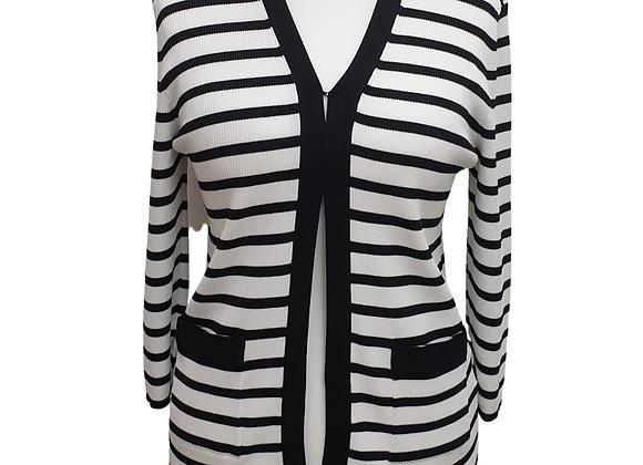 Betty Barclay striped cardigan. Uk 16