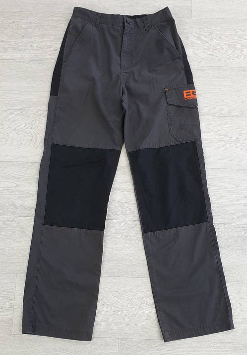 Bear Grylls by Craghoppers grey/black trousers. 13yrs