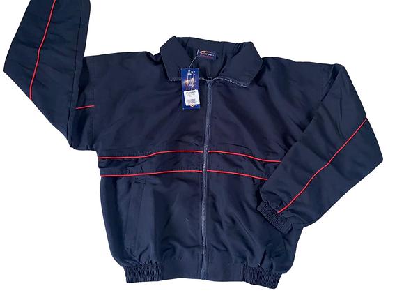 Falcon navy sports jacket. NWT
