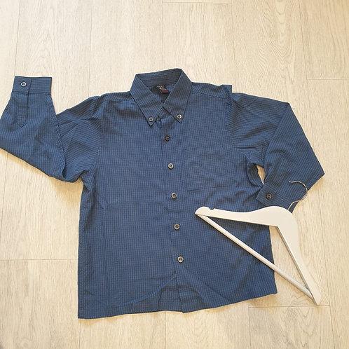 🧸Next blue check shirt. 6yrs