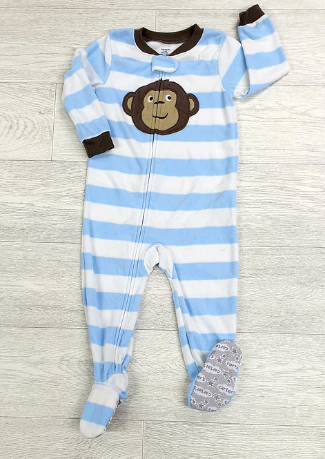 Carters monkey sleepsuit. 24m