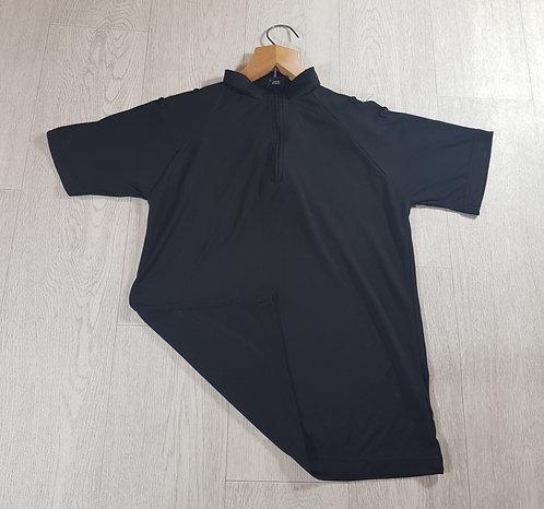 🔵Niton tactical mens black sports tee shirt with shoulder loop detail size 34