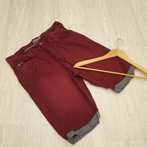 👕Levi's burgundy red shorts. Size M