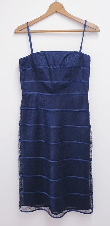 ⚪Boutique navy blue dress. Size 10