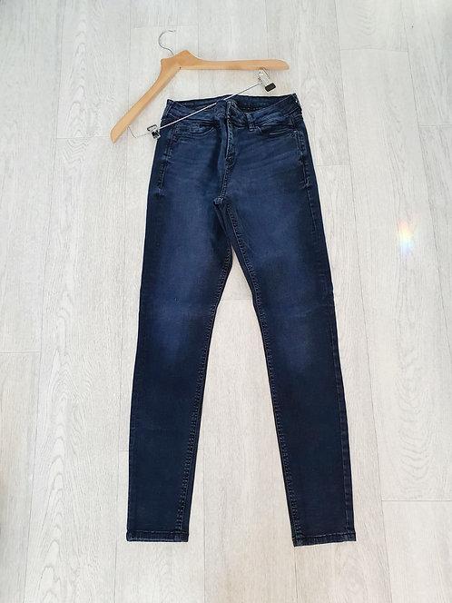 Indigo skinny jeans. Suggested size 12
