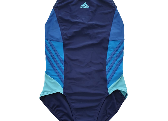 Adidas navy swimsuit. 13-14yrs