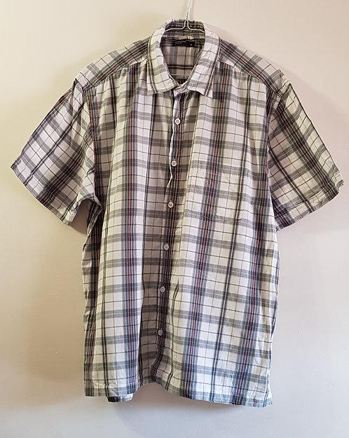 CEDAR WOOD STATE Check short sleeved shirt. Size XL