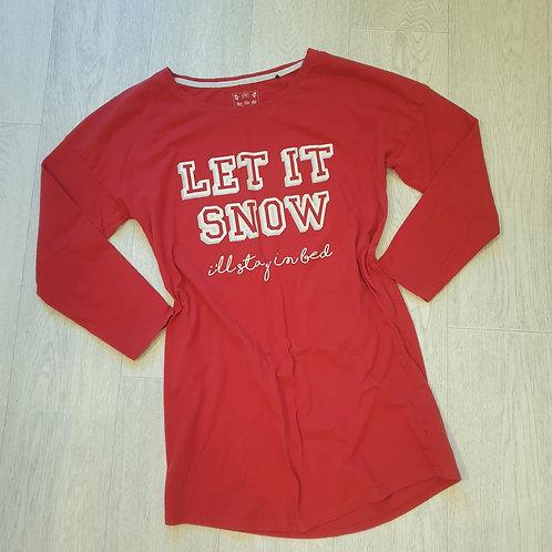 🎄F&F red Christmas nightie. Size 8-10