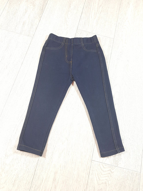 🌈Next girls blue jeggings size 1 ½ / 2 years
