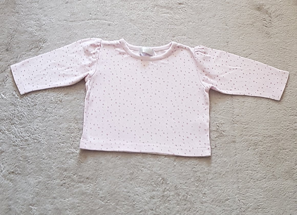 EARLY DAYS Pink top 3-6m