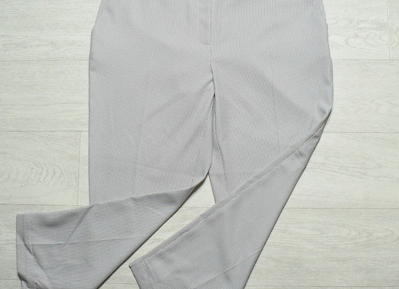 Dorothy Perkins grey textured trousers. Size 16
