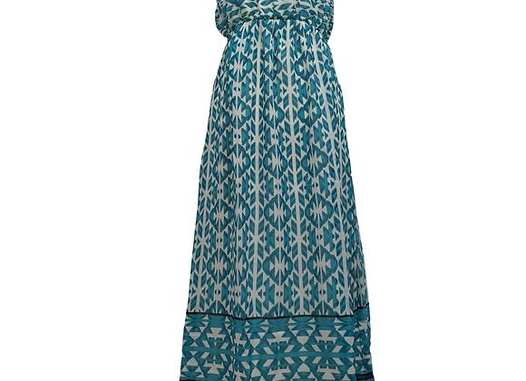 Bella Moda strapless maxi dress. Size L