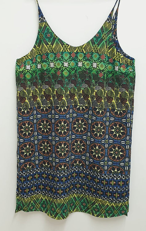 Topshop colourful camisole. Uk 16 Tall