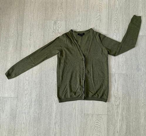 🌗Atmosphere khaki cardigan. Size 8