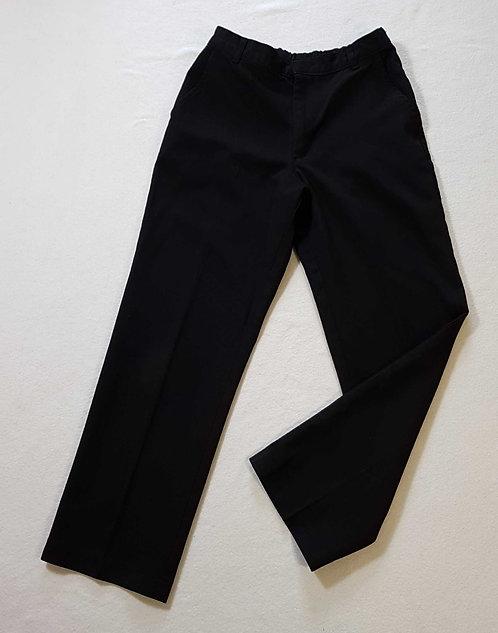 ◾George boys black school trousers. 8-9yrs