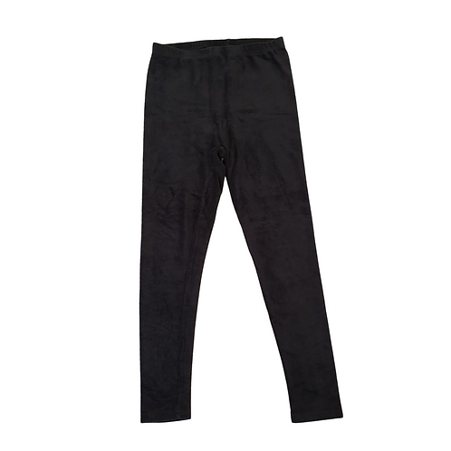 Yours Black soft chord leggings. Uk 18
