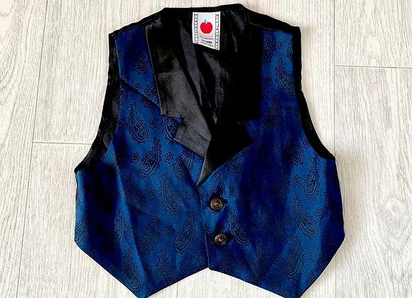 🌗Adams blue waistcoat. 1½-2yrs