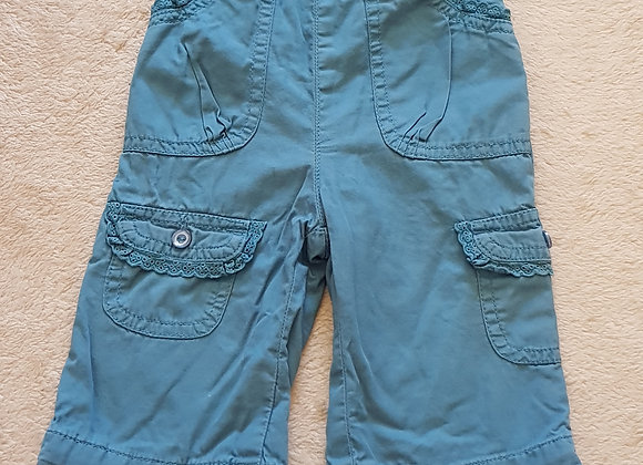 BABY MAC Teal trousers 3-6m up to 17.5lbs