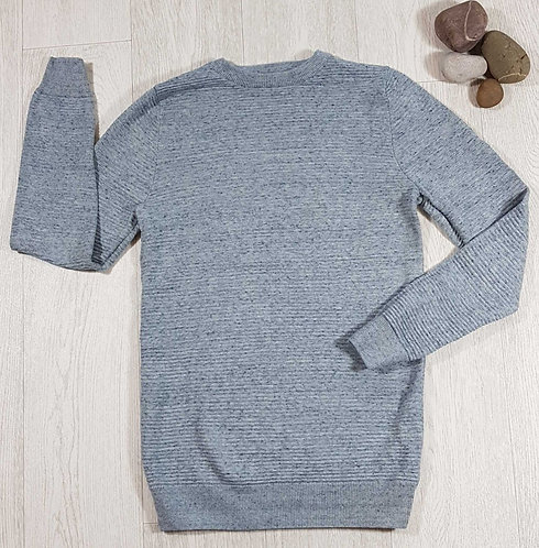 ◾Next long line ribbed knit sweater. 12yrs