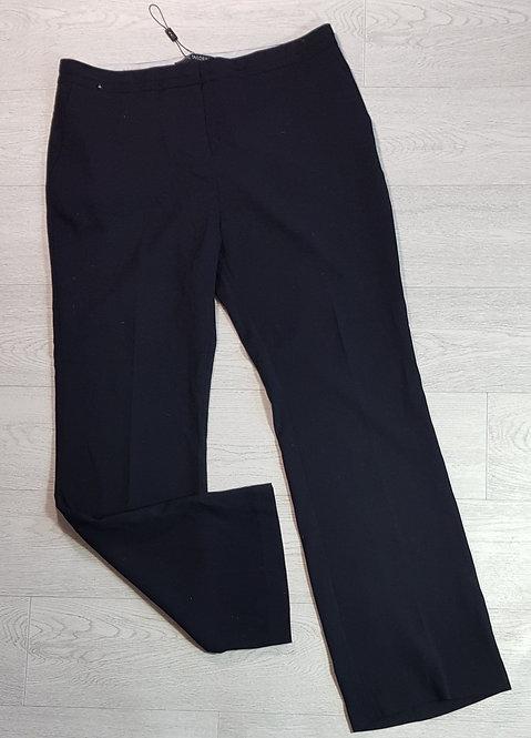 Next black straight leg trousers. Size 16 Long