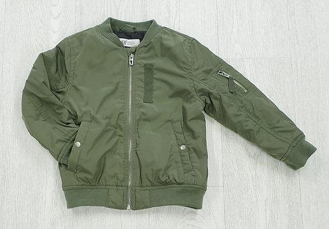 H&M khaki bomber jacket. 4-5yrs