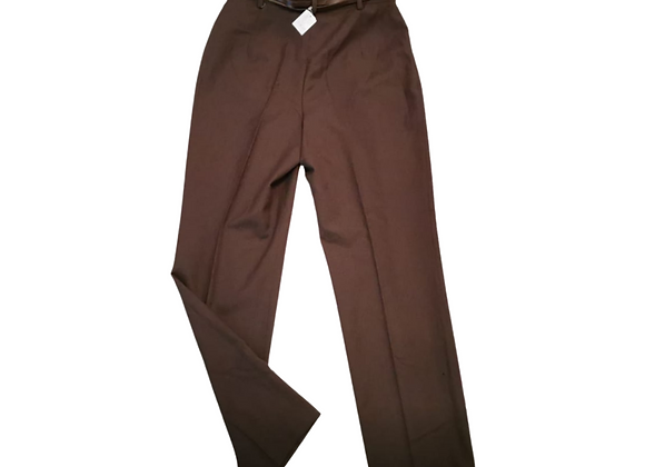 Bianca Brown belted trousers. Uk 16 NWT