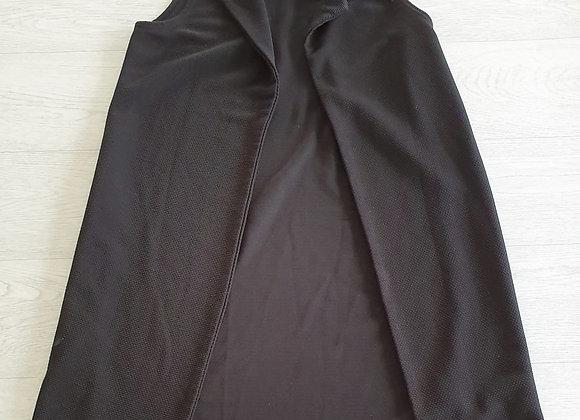 💚Boohoo black open jacket. Size 10