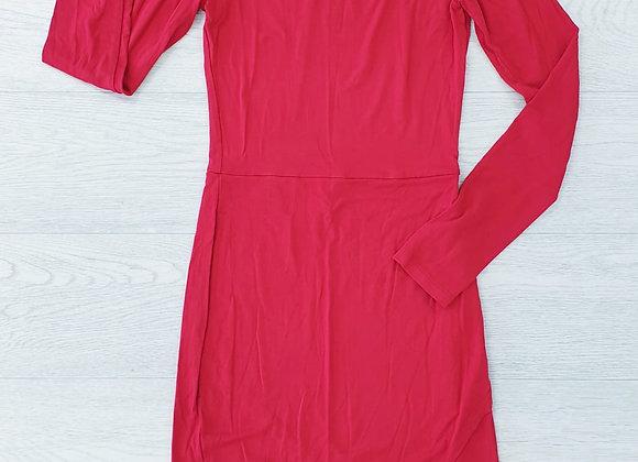 Asos long sleeve red dress. Uk 8