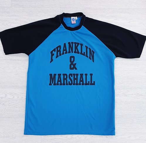 •Franklin & Marshall blue t-shirt. Size L
