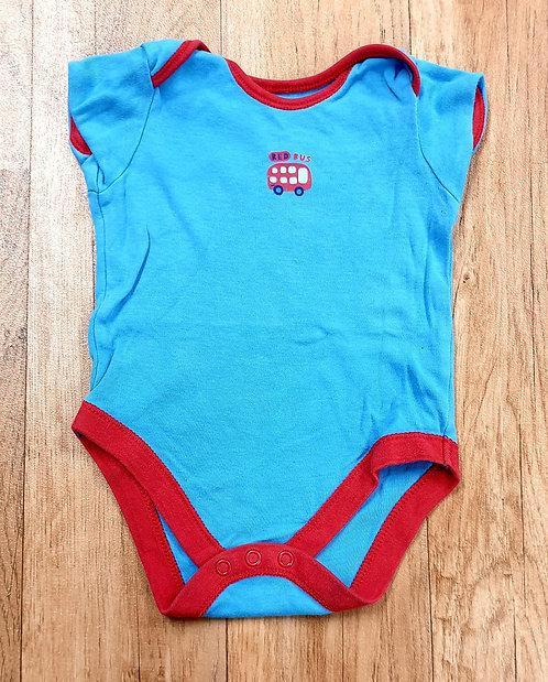 George blue vest. 6-9m